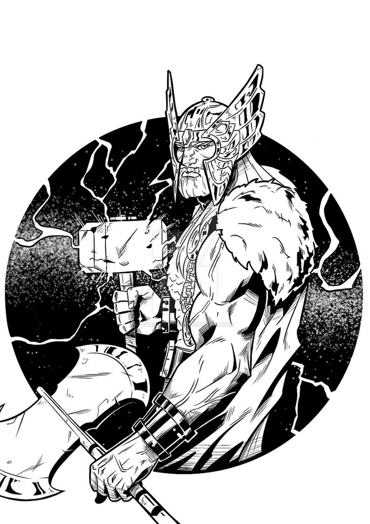 Thor by chrisawayan