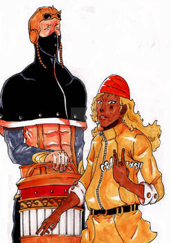 Apple Black Jekyl and Sun Prince Ceazar.