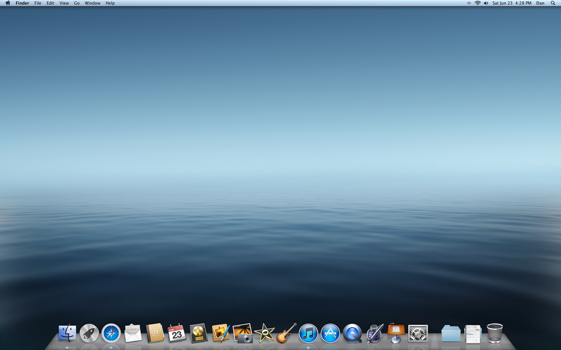 my customized os x lion desktopdjtech42 on deviantart