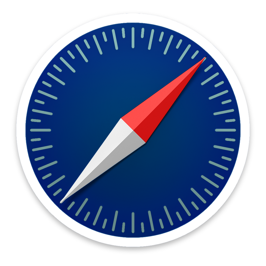 Alternative Safari Yosemite Icon by djtech42 on DeviantArt
