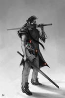 Ninja Robot 2 by hulya-cilingiroglu