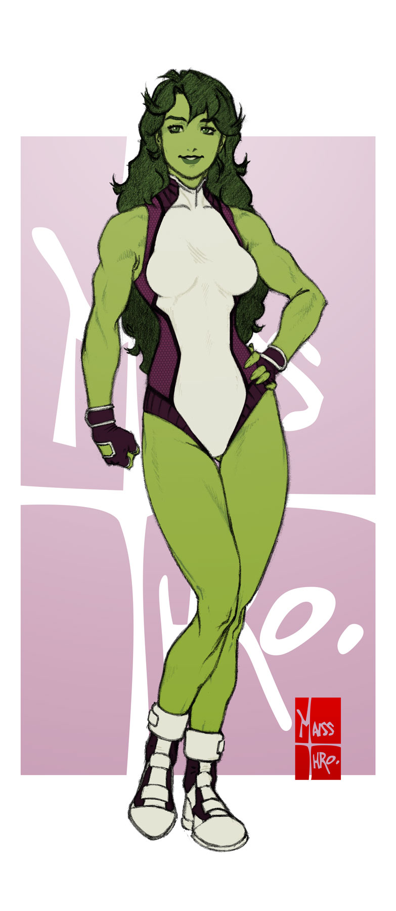 She Hulk by Maiss-Thro