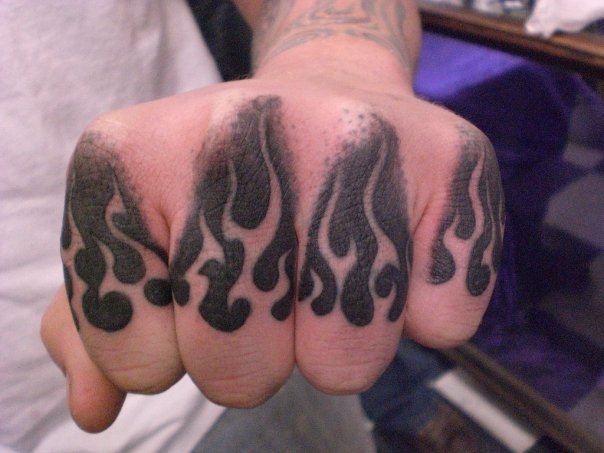 flame tattoo by infected20 on deviantart. Black Bedroom Furniture Sets. Home Design Ideas