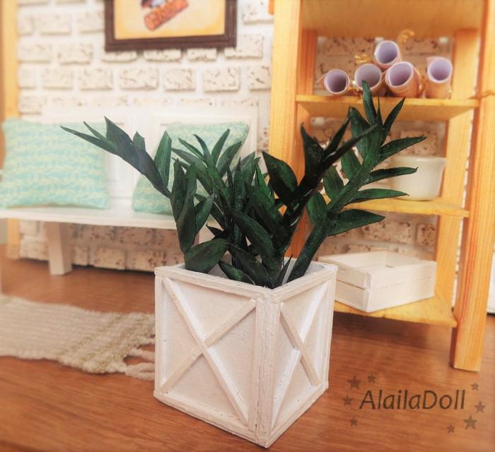 Dollhouse Miniature Plant by alaila1