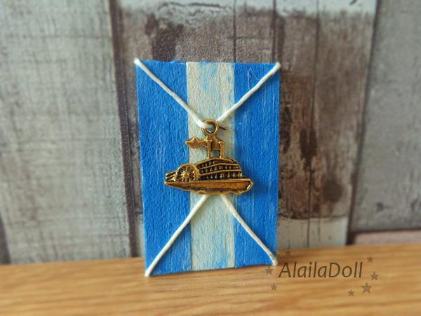 Miniature Dollhouse Seaside Decoration by alaila1
