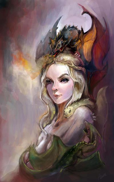 Daenerys by pandanomium