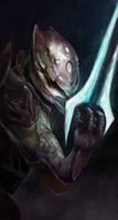 Halo Elite with energy sword