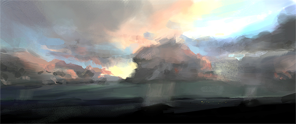 Another Sky Study by pandanomium