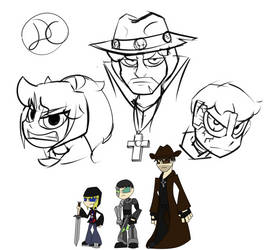 AU sketches by Soulment