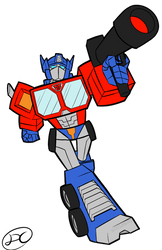 Quick draw: Optimus prime by Soulment