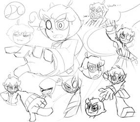 Daemon Sketches 2 by Soulment