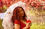 Red Spring Blossom