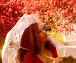 Red Spring Blossom I