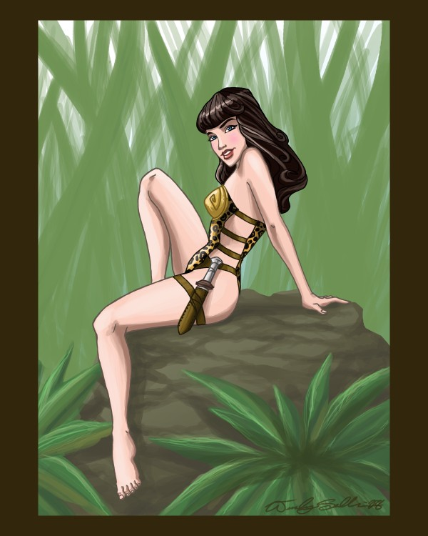 Betty Page by WendyDoodles