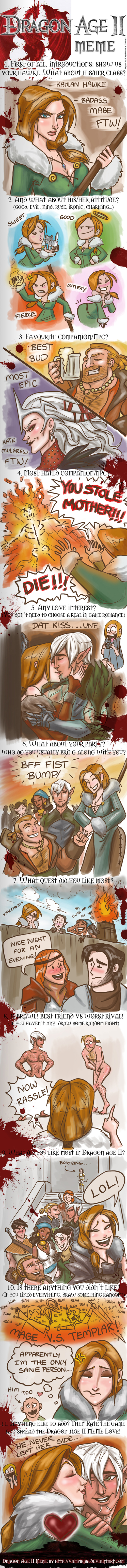 Dragon Age II Meme by WendyDoodles