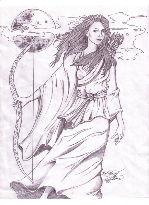 Artemis by WendyDoodles on DeviantArt - 74.2KB
