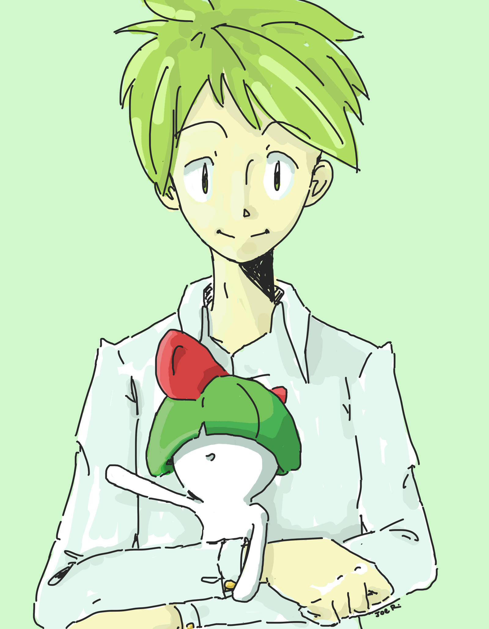 Wally and Ralts color by J-0-E on DeviantArt