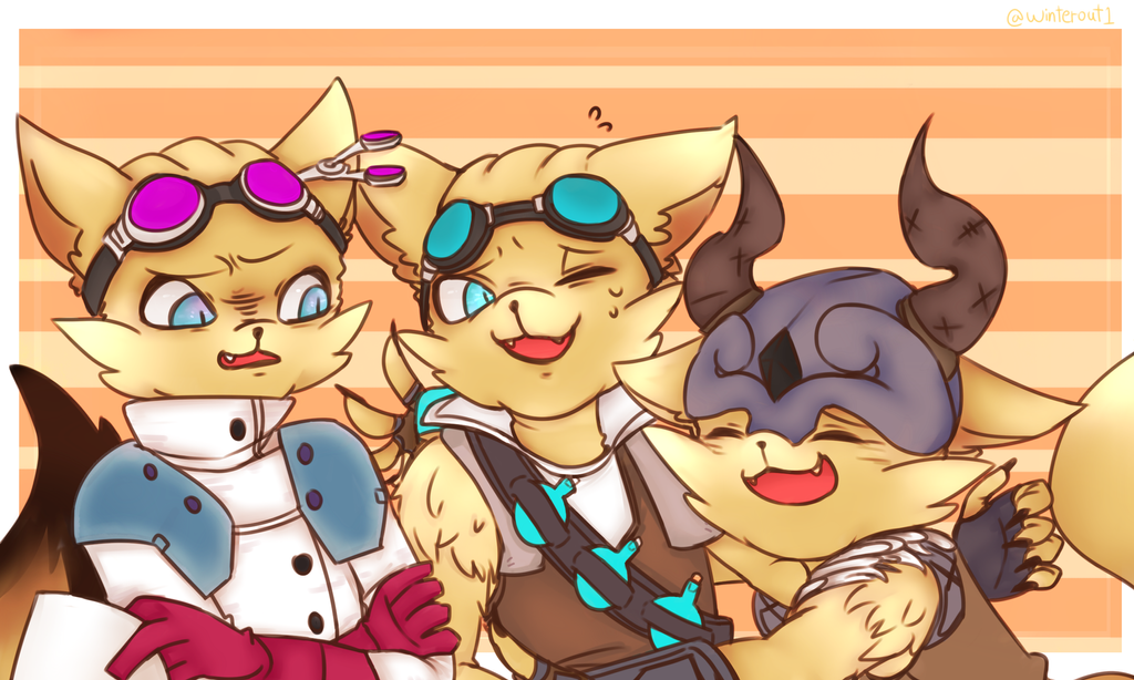 Three pip coloring is fin! by winterout1 on DeviantArt