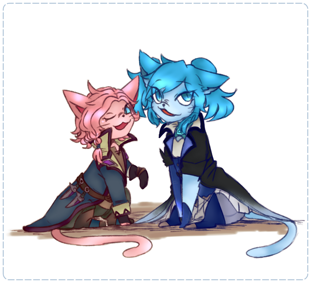Maeve And Evie ! By Winterout1 On DeviantArt