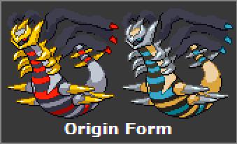 giratina origin form sprite