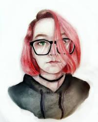 Portrait by bonekimimaro