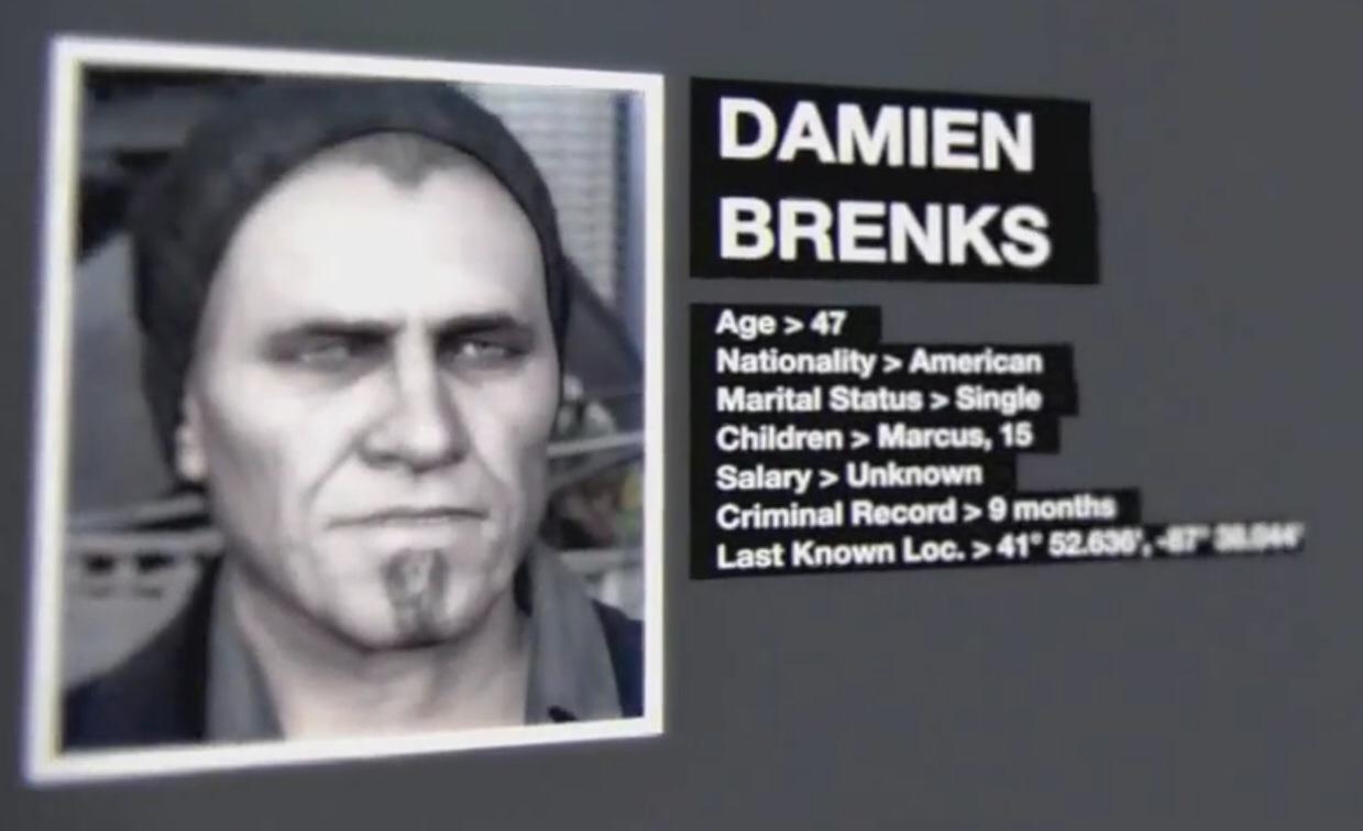 Damien Brenks Watch Dogs