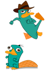 Perry The Platypus Vector 1