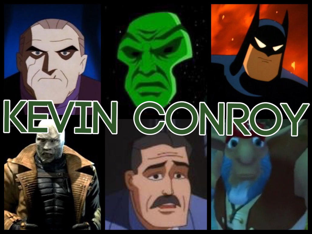 Kevin Conroy Characters by PhantomEvil