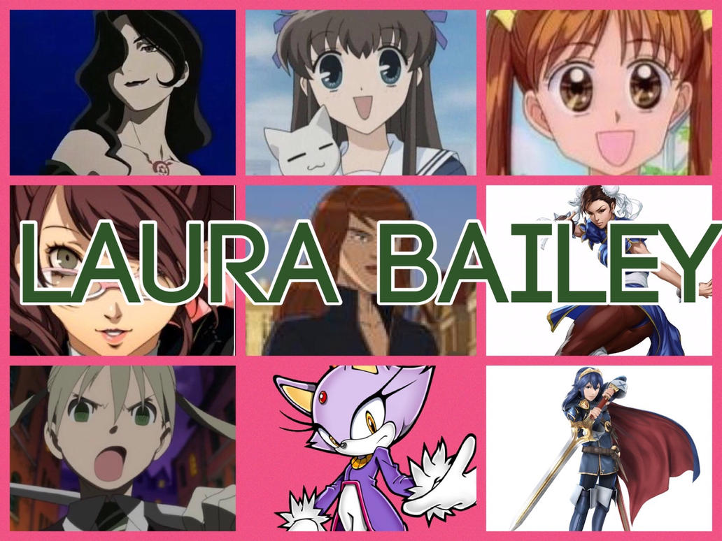 Laura Bailey Characters by PhantomEvil