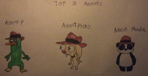 Top 3 Agents In Phineas And Ferb