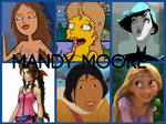 Mandy Moore Characters