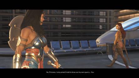 Wonder Woman Vs Cheetah