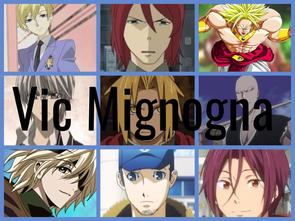 Vic Mignogna Characters by PhantomEvil