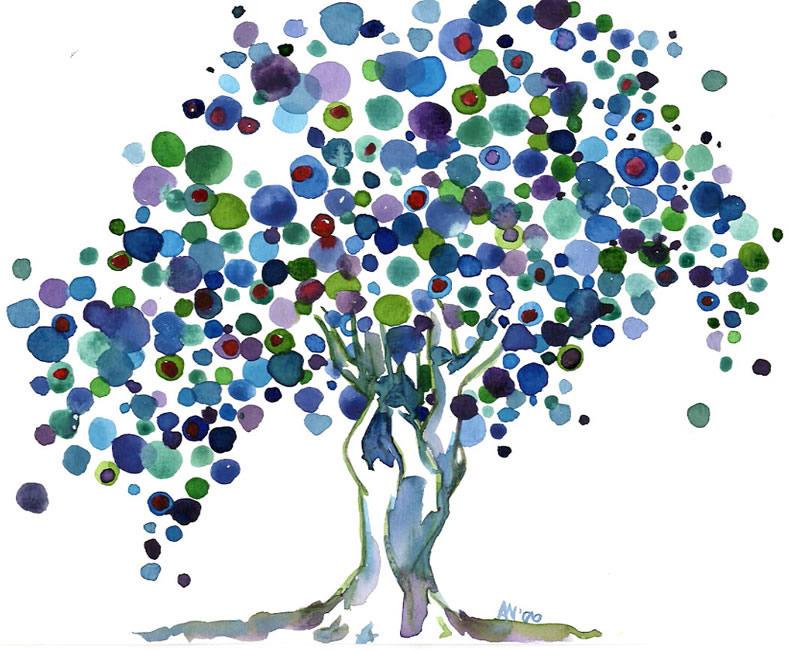 Poka-Dot Tree By Angie4450 On DeviantArt
