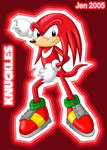 :KNUCKLES THE ECHIDNA: