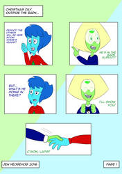 Lapidot Christmas Comic - Page 1 by JenHedgehog