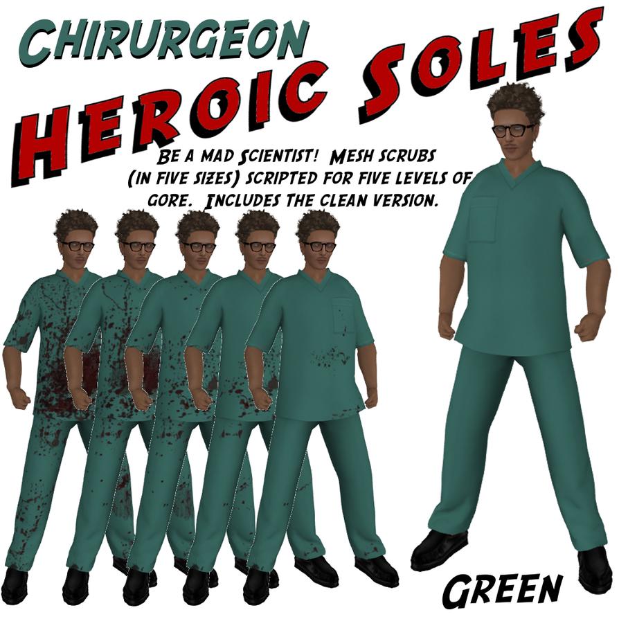 Chirurgeon Green Ad by BarbaraTeebrook