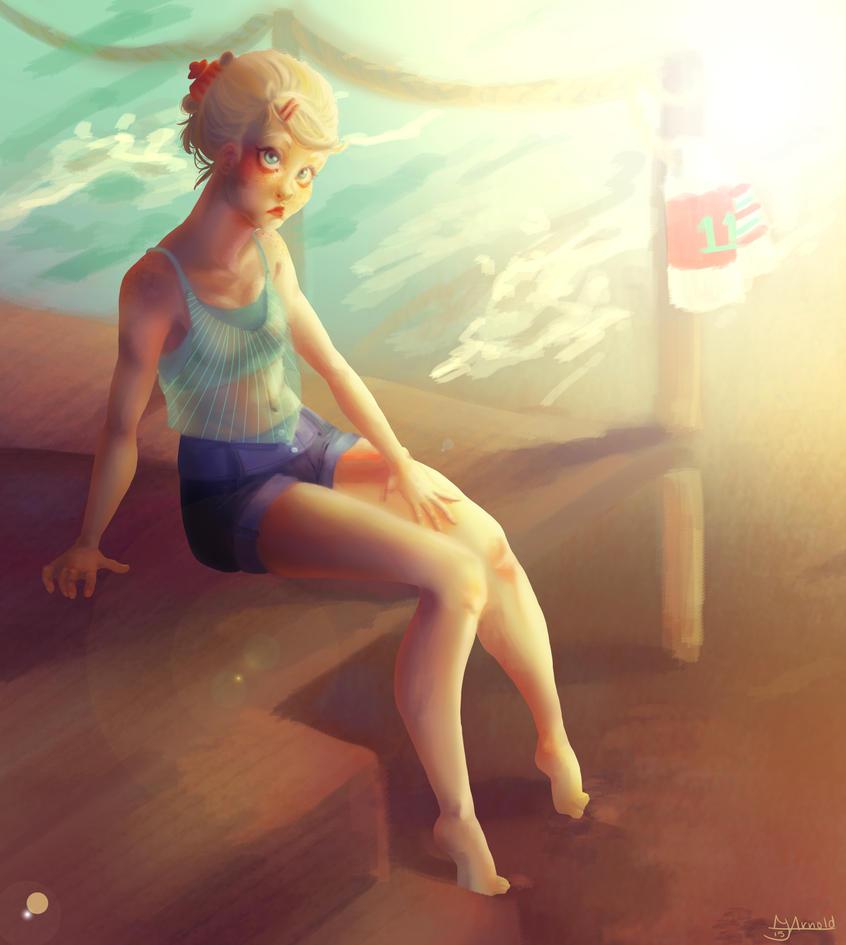 Summer by Blackcardinal23