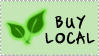Buy Local Stamp by jvrichardson