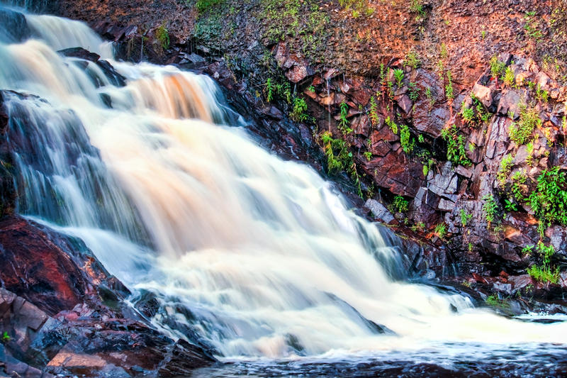 Rushing Falls by jvrichardson