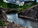 Ominous River Path