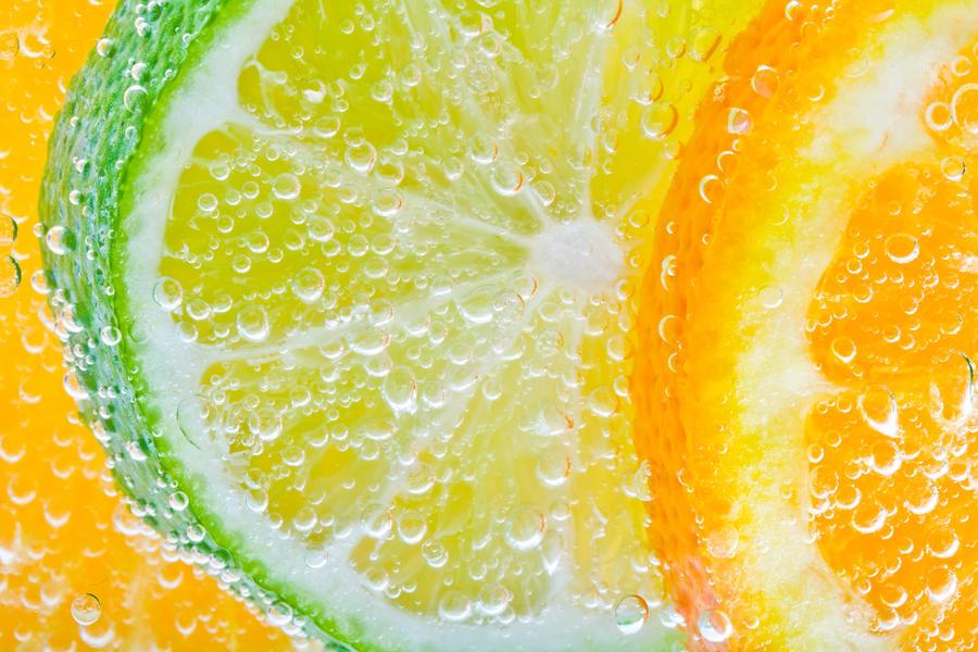 Citrus Bubbles by jvrichardson