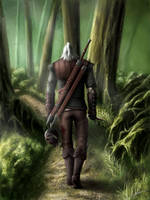 The Witcher 2, Geralt by Nikki-67