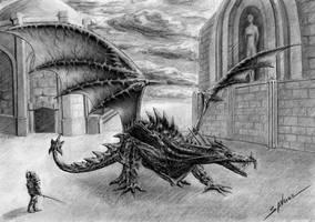 Dragon Age, Archdemon by Nikki-67