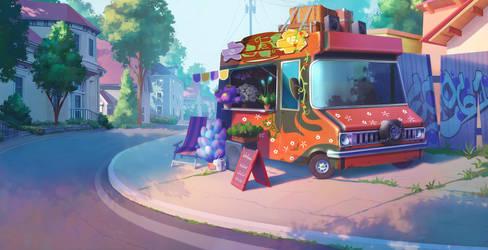 Flower seller by Nikki-67
