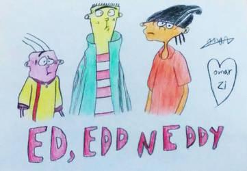 Ed Edd N Eddy by OmarZi