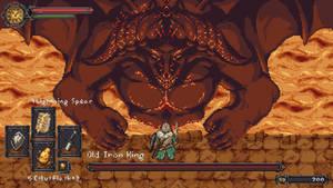 Dark Souls 2 Old Iron King Mockup