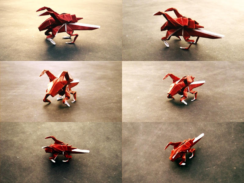 Origami Zerglings