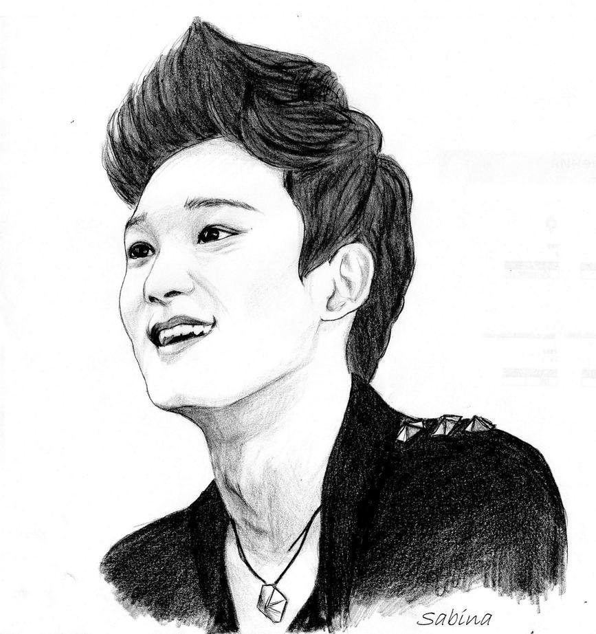 K Chen L Hne chen exo m by sabinas77 on deviantart