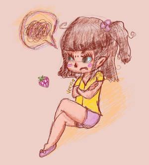 Strawberry Rush (I drew something again woo)